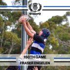 Fraser Engelen - 150th Game -