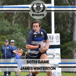 James Winterton - 50th Game -