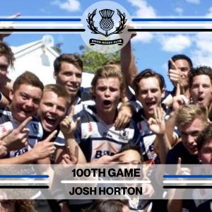 Josh Horton - 100th Game -