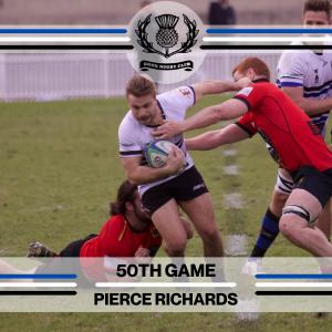 Pierce Richards - 50th Game -