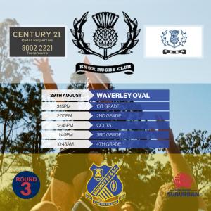 Round 3 - Waverley - Catch-Up -
