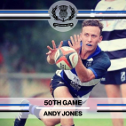 Andy Jones - 50th Game -