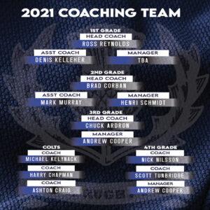 2021 Coaching Team -