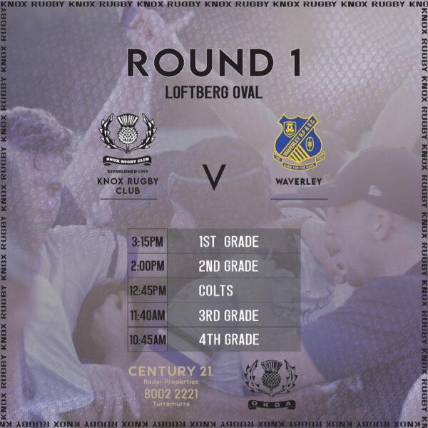 Round 1 - Waverley -