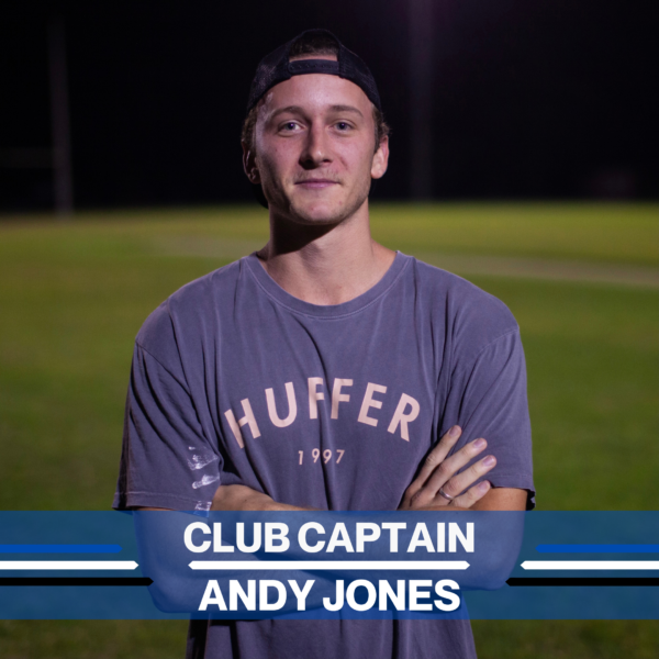 2021 Club Captain - Andy Jones -