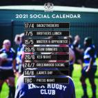 2021 Social Calendar -