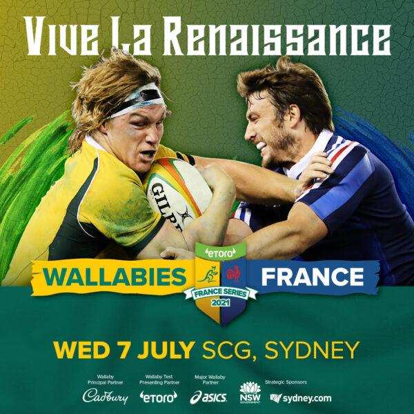 Wallabies v France El Toro Series -